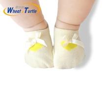 New Arrival Newborn Socks Cartoon 100% Cotton Baby No-slip Infant