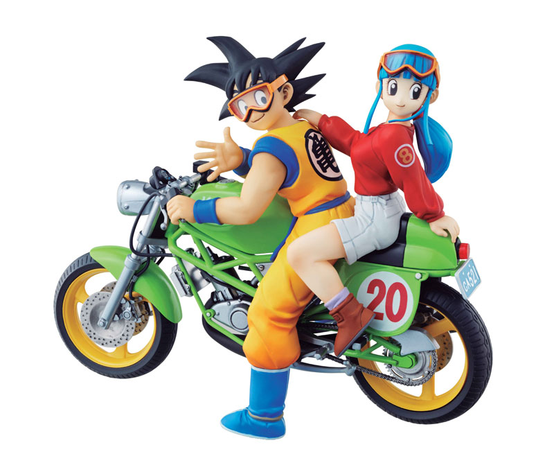 PrettyAngel - Genuine Megahouse DESKTOP REAL McCOY Dragon Ball Z Son Goku & Chichi Complete Figure 2