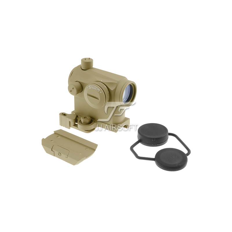 TARGET Micro 1x24 Red Dot with QD Riser Mount , CNC Low Mount (Tan) LT660, LT660HK or LT661