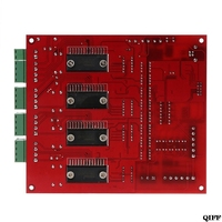 Drop Ship&Wholesale MACH3 CNC USB 100Khz Breakout Board 4 Axis Interface Driver Motion Controller APR28