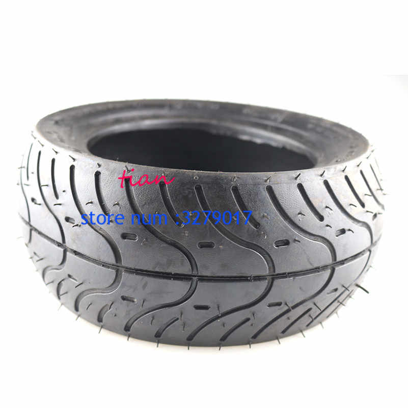 Super quality 110/50-6.5 tubeless tire 90/65-6.5(10 inch) Treaded Tire front /real 49cc Mini Bike Scooter Pocket bike