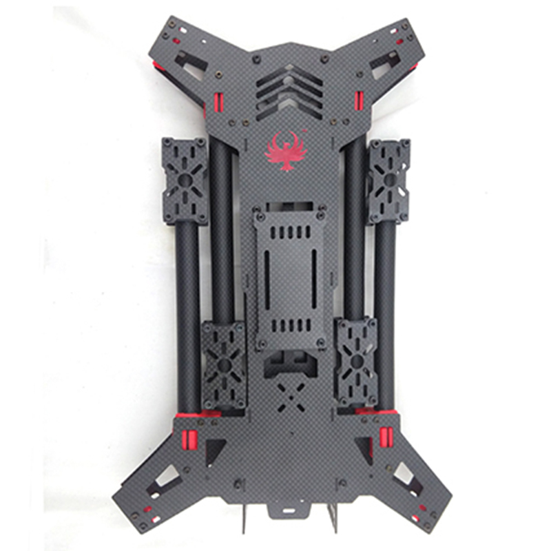 H680 Carbon Fiber FPV Folding Quadcopter Frame / 680 RC Multicopter Shaped Cross Frame 680 daya 680 daya 680 folding 4 axis carbon fiber uav h4 quadcopter frame w landing gear for fpv rc multicopter drone frame kit