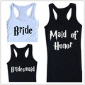 Maid of honor bridesmaid Bride Bachelorette Shirt Inspired by HP  T1661