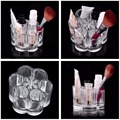 1pc Acrylic Brush Pot Shape Cosmetic Storage Organizer Makeup Display Rack Box Hot Selling