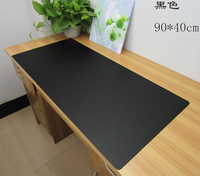 90 40CM PU Leather Business Office Desk Mat Computer Desk Pad