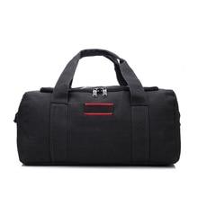 Men Canvas Travel Duffle Bag Women Stylish Luggage Bag Large Capacity Shoulder Bag Trip Handbag Portable Duffle Bag