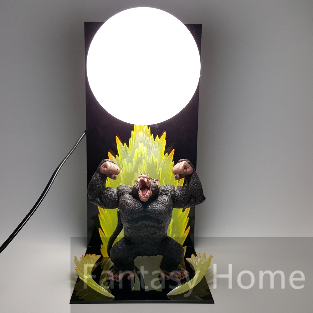 Dragon Ball Z Figure Goku Ape Monkey Moonlight PVC Figure Dragonball Z DIY Display Model Toy Esferas Del Dragon+Ball+Base DIY41