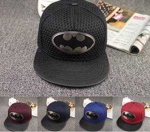 2018 New Style Brand Cotton Batman Snapback Hip Hop Cap Hat Fashion Casual Batman Baseball Cap Hats For Men Women Present(China)