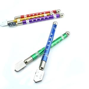 Berufs Öl Gefüllt Hartmetall Glas Cutter Schneiden Rad Metall Griff Hand Werkzeuge Hohe Qualität Diamant Kopf Toyo