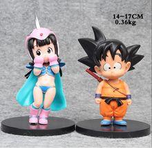 2Pcs Set Dragon Ball Z PVC Action Figure Toy