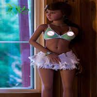 140 センチメートル日本のセックス人形タン色リアルなセックス人形、フルサイズシリコーンスケルトン愛人形、口腔膣マンコアナル大人の人形