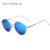 VEITHDIA gafas de Espejo de Conducción gafas de Sol de Marca Unisex Moda Gafas de Sol Polarizadas de Recubrimiento Masculino Ronda Eyewear Para Los Hombres/de Las Mujeres 3617