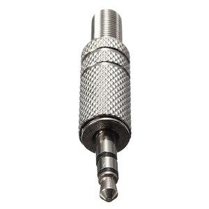 Image 3 - LEORY العالمي 2 قطعة 3.5 مللي متر الصوت جاك التوصيل 3 القطب ذكر إصلاح سماعات موصل لحام محطات عالية الجودة الفضة