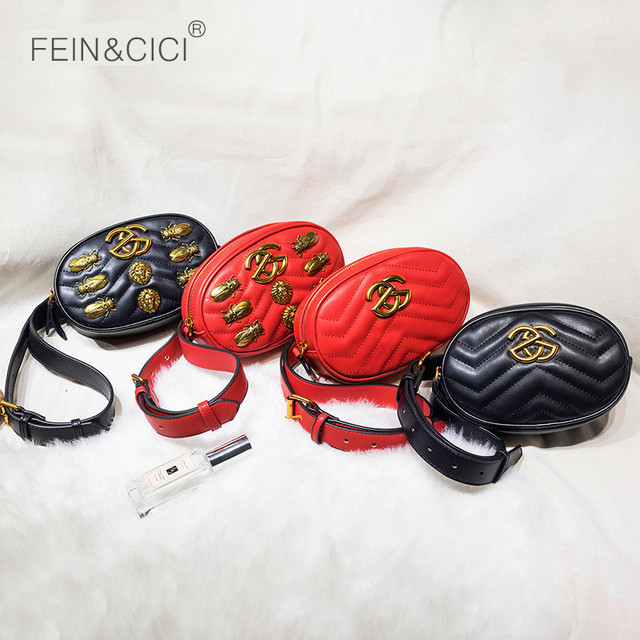 Chest bag velvet women rivets sequined lions beetle handbag luxury brand fashion high quality leather bags wholesale dropship