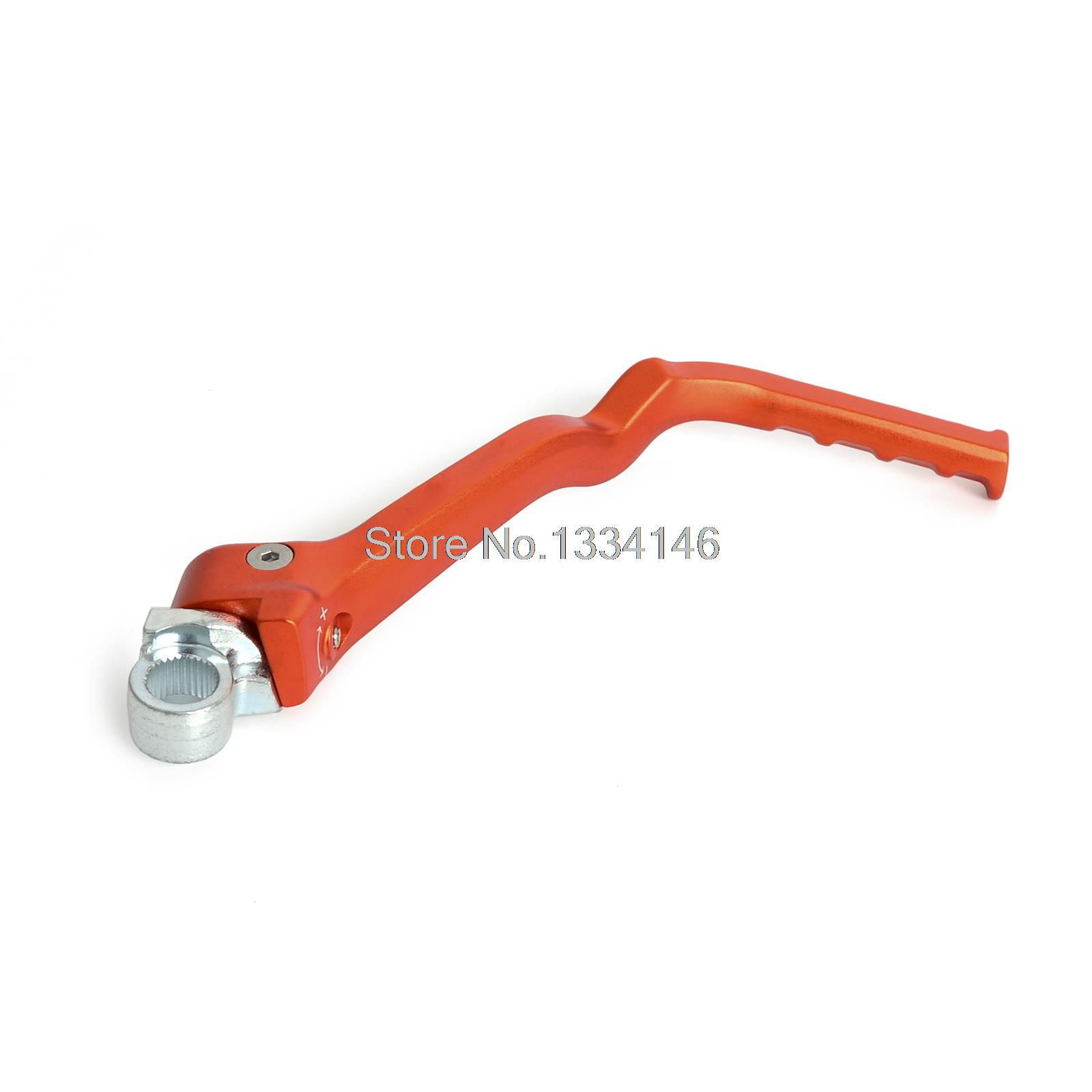 Forged kick start lever for ktm 250 sx 250 xc 250 xcw 2011 2012 2013 2014