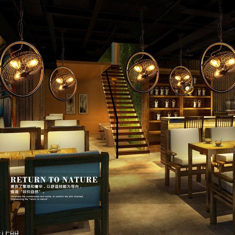 Style américain rétro concis Style industriel pendentif lumière Restaurant Bar voiture Loft salon décoration lampe livraison gratuite