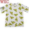 Harajuku Style Banana Funny Shirt Camiseta Feminina Cool Tops Graffiti Women T-shirt Roupa Feminina Vetement Femme WXC