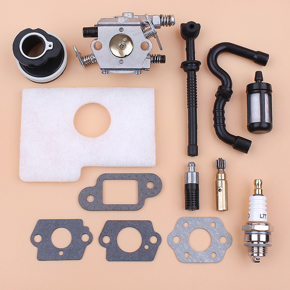 Carburetor Oil Pump Fuel Oil Line Filter Kit for STIHL MS180 MS170 018 017 MS 180 Gasoline Chainsaw Spares 1130 120 0603Carburetor Oil Pump Fuel Oil Line Filter Kit for STIHL MS180 MS170 018 017 MS 180 Gasoline Chainsaw Spares 1130 120 0603