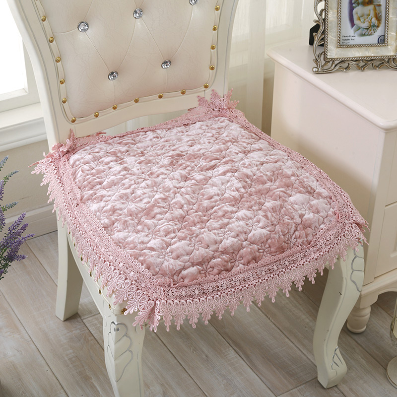 Superbe Custom Shipping Spring Thin Diamond Quilted Velvet Chair Cushion Cushion  Special Offer Dining Cushion Cushion Stool Pad Office In Cushion From Home  U0026 Garden ...