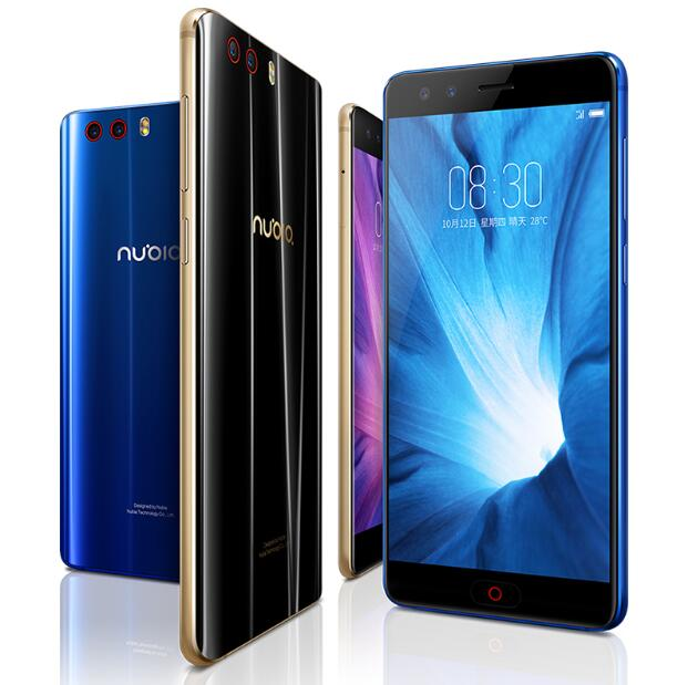 NUBIA Z17 Mini S 6 gb 64 gb SmartPhone 4g LTE MSM8976 Pro Snapdragon 653 Octa base 5.2 FHD 16MP + 13MP Quad Cames NFC OTG Android 7.1