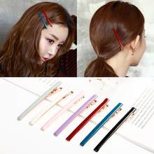 Fashion Vintage Women Colorful Solid Plastic 6CM 9CM Thick Barrettes Female Elegant Hair Clips Lady Hairpins Accessories
