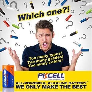 Image 3 - 6Pcs PKCELL C LR14 Batterie AM2 CMN1400 E93 Super Alkaline Batterien 1,5 v Für Rauchmelder Led leuchten Rasierer wireless
