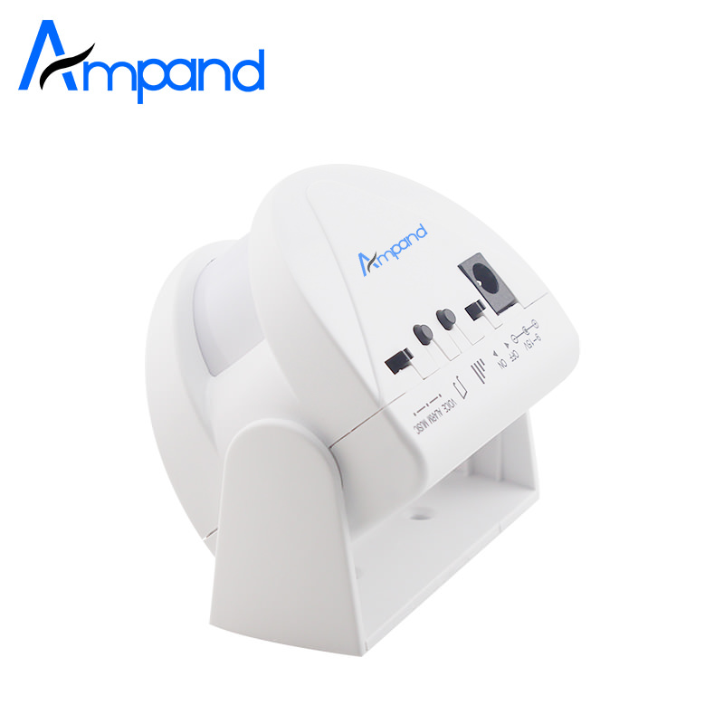NEW Wireless Door Bell Infrared 8m Welcome Guest Alarm Chime Motion Sensor Detector for Shop Home