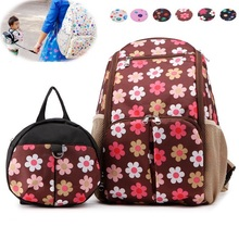 2017 Top Brand Fashion Mummy Maternity Nappy Bag Large Capacity Travel Backpack Designer Nursing Baby Care ONE MORE Baby Bag