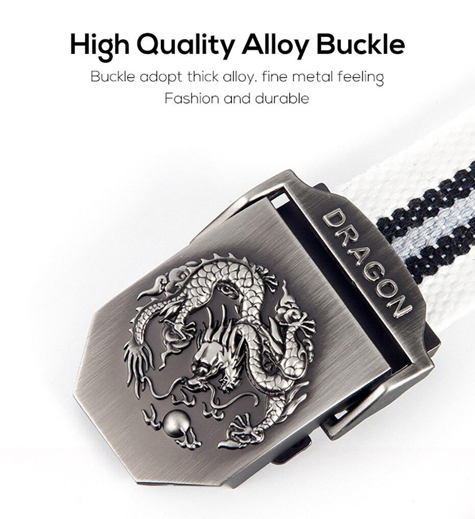 2018 cinturón táctico de dragón para hombre cinturón de lona ... ff3d7c2748fd