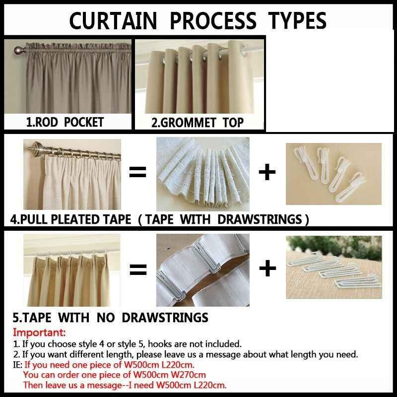 Napearl 1 peça jacquard cortinas deixar design marrom cortina tecidos tratamentos da janela para sala de estar painel sombra porta cortinas