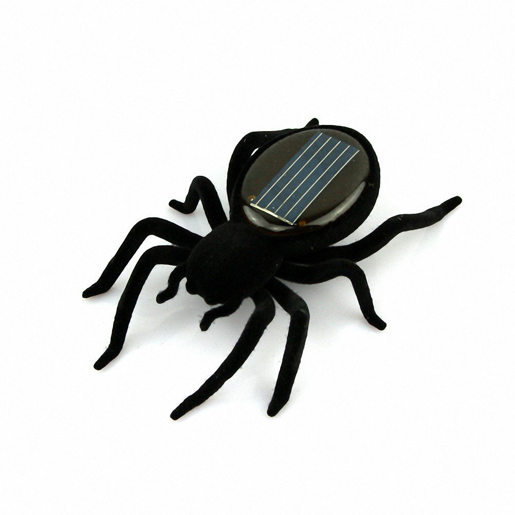 Educational Solar Powered Spider Robot font b Toy b font Gadget Gift