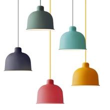 Nordic Led Wood Pendant Lights Iron Lamps Bedroom Living Room lustre Restaurant Lighting Decor Hanging Lamp Fixtures