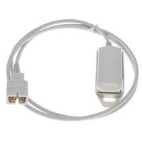 DB 7pins Nellcor DS100A blood oximeter probe, 1m adult/Child/ finger clip VET ear/tongue spo2 sensor.