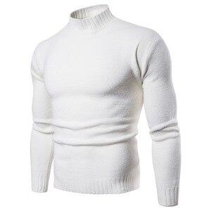 Image 5 - Vomint 2019 tout nouveau Pullovers pour hommes chandails à col roulé chandails basique décontracté Must Have icônes manches longues col haut chandail