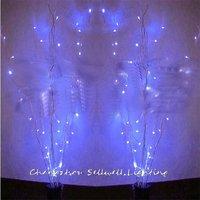 Árvore de natal artificial decorações da árvore de natal bom! led festival lâmpada sala de desenho decoração 50 pçs ramo lâmpada h169|decorative decorative|lamp lamp|decorative lamp -