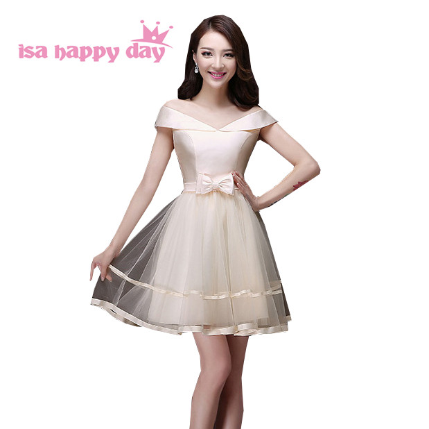 sweet 16 bateau neck short elegant champagne party homecoming ball grown  dress styles beautiful cheap dresses dfe1332c504f