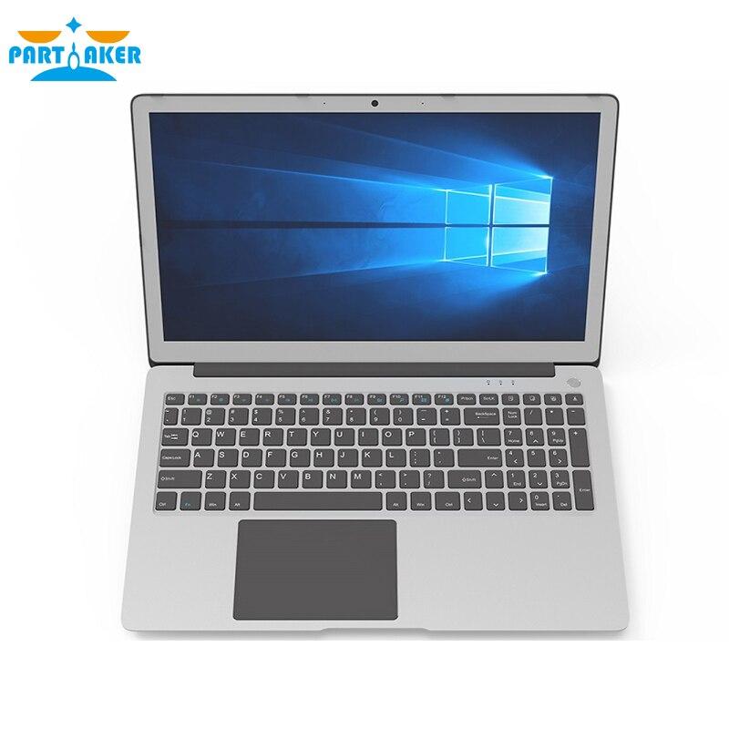 Parpreneur L3 plus récent 15.6 pouces ordinateur portable i5 8250U i7 8550U Quad Core UltraSlim ordinateur portable clavier rétro-éclairé avec Bluetooth WiFi