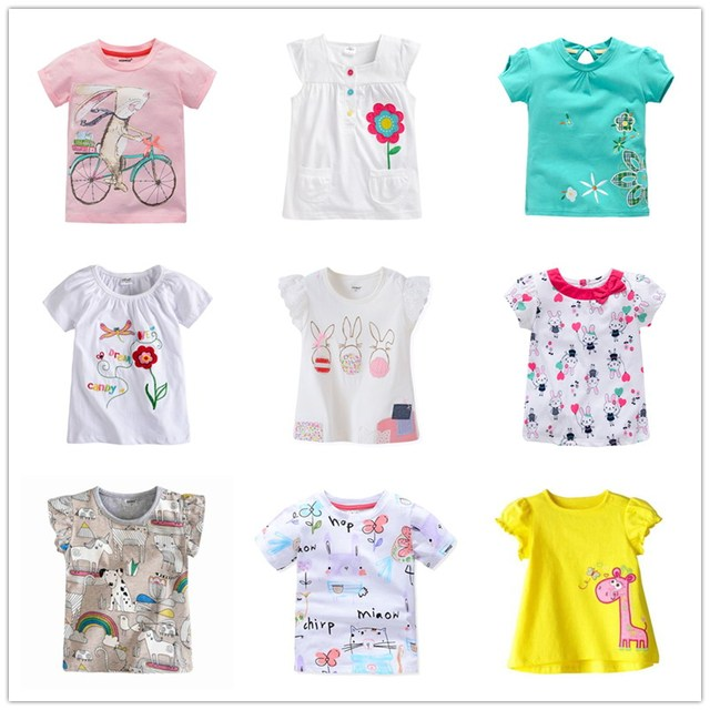 874d672015e VIDMID baby Girl t-shirt big Girls tees t shirts children blouse t-shirts