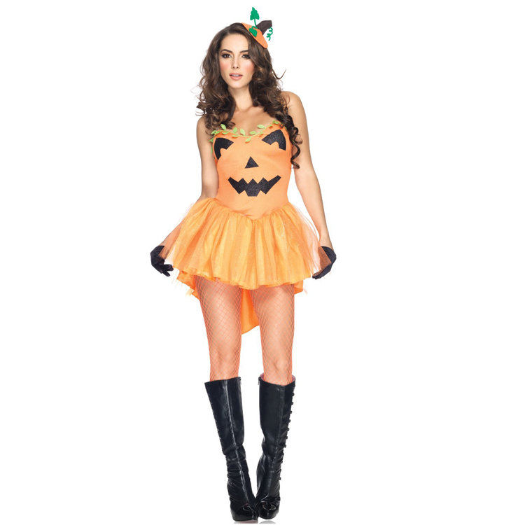 sale adult pumpkin princess disfraces sexy women halloween carnival party costumes in holidays costumes from novelty special use on aliexpresscom