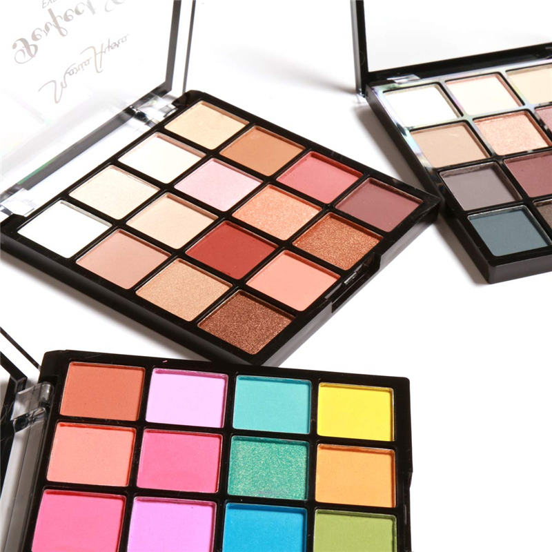 MARIA AYORA Perfetto Chic Eyeshadow Palette 16 Colori Eye Make up Facile da Indossare Glamorous Eye Shadow Shimmer Colori Kit616