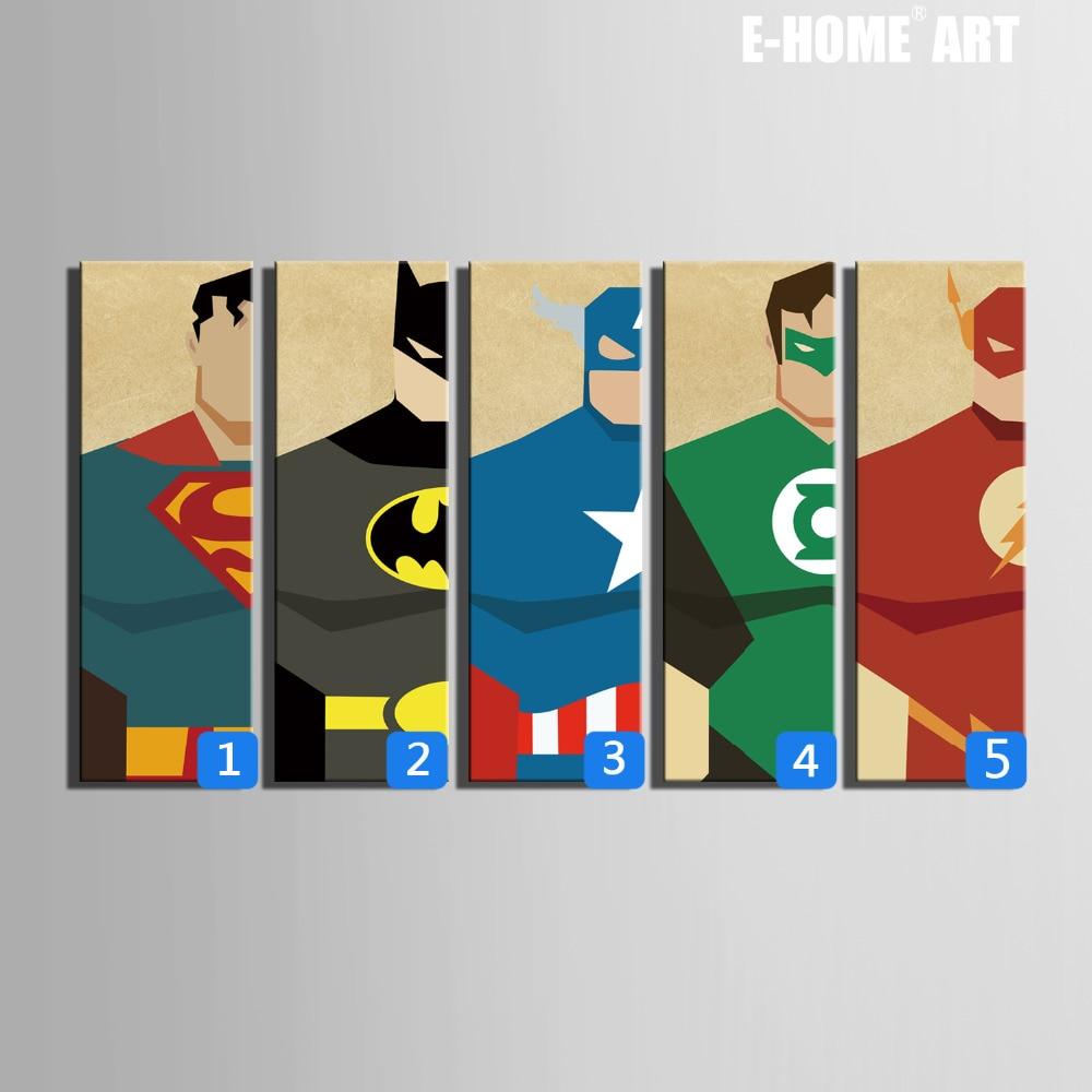 Aliexpress Com Buy Hd Superman Posters Canvas Art Print