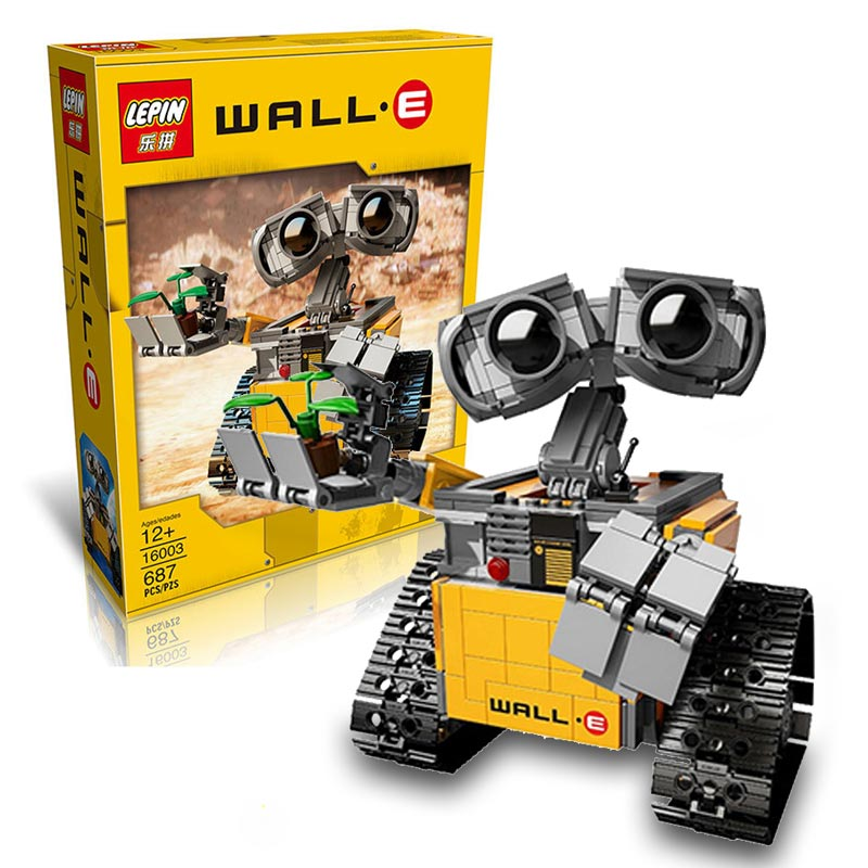 New Lepin Star Wars 2016 Enlightenment Blocks ABS Plastic Self Locking Bricks WALL E Model Building