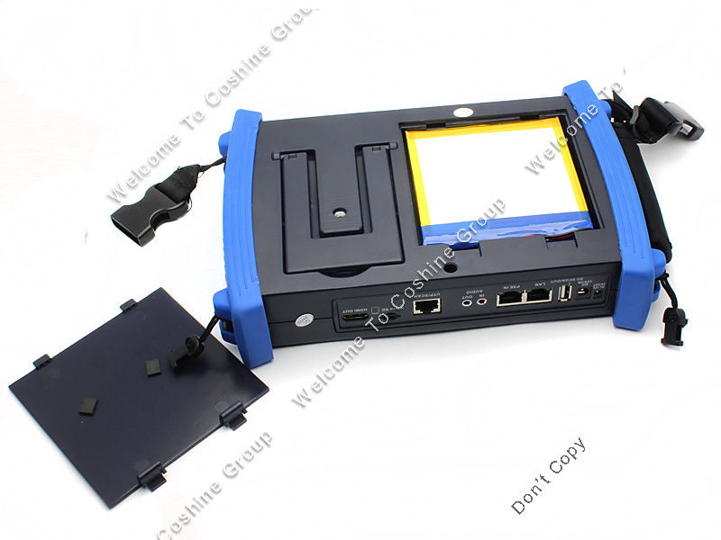 SEESII IPC-8600ADHS 7 Touch Screen IPC+CVBS+HD-AHD+TVI+CVI+SDI Camera Monitor PTZ Test Tester POE