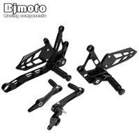 BJMOTO For Yamaha MT10 2016 2017 FZ10 2016 2017 Motorcycle Rearsets Rear Set Foot Pegs Pedal Footrest Solid Aluminum MT 10 FZ 10