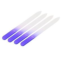 4 шт./компл. прочный кристалл Стекло Дизайн ногтей Файл буфера Дизайн ногтей DIY маникюр полировки Напильники устройства профессиональный шлифовальный Инструменты