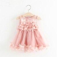 Детское платье для девочек платья 2018 Одежда для малышей Крещение платья принцесс для девочек Дети vestido infantil халат Bebes Fille