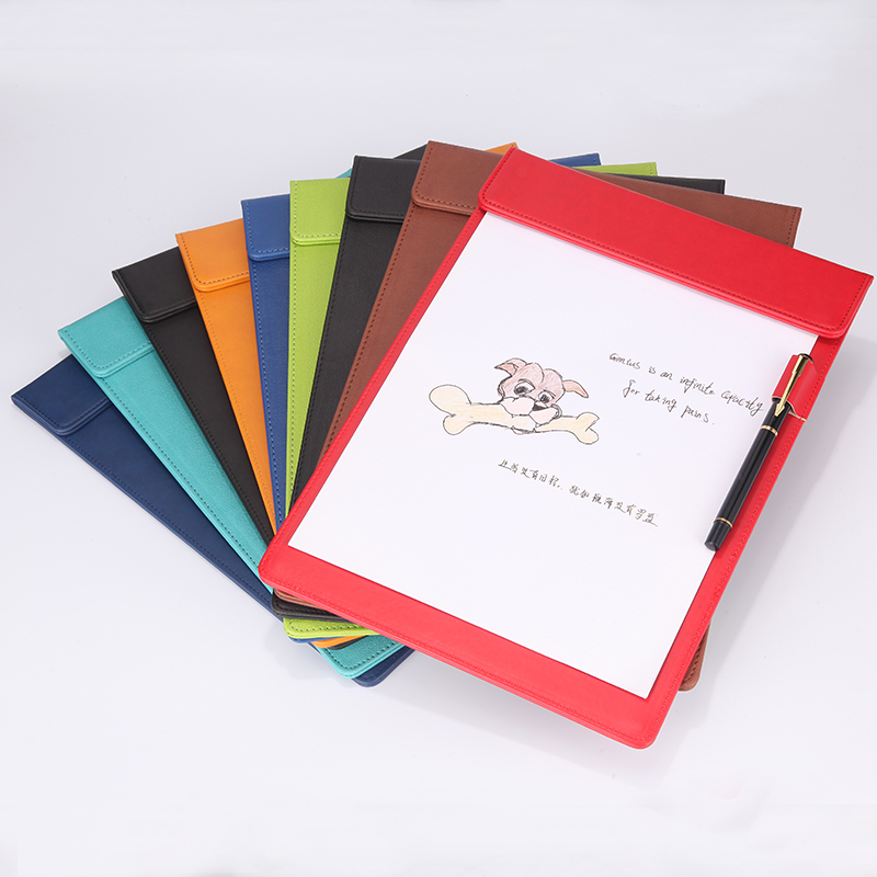Candy A4 Document Conference Paper Folder Flap Notepad Documents Stationery Organizer Menu Cover Office School Supplies 1212B