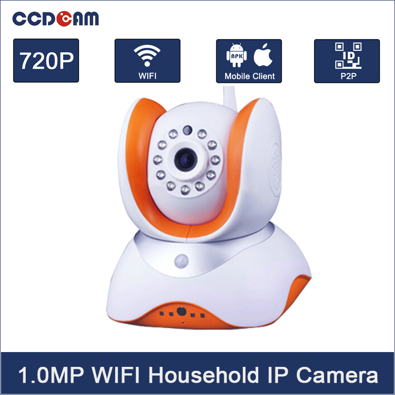 CCDCAM IP Camera WiFi Wireless Network Mini Rotatable Smart Security Camera Defender for family HD Cctv Support Android IOS PC
