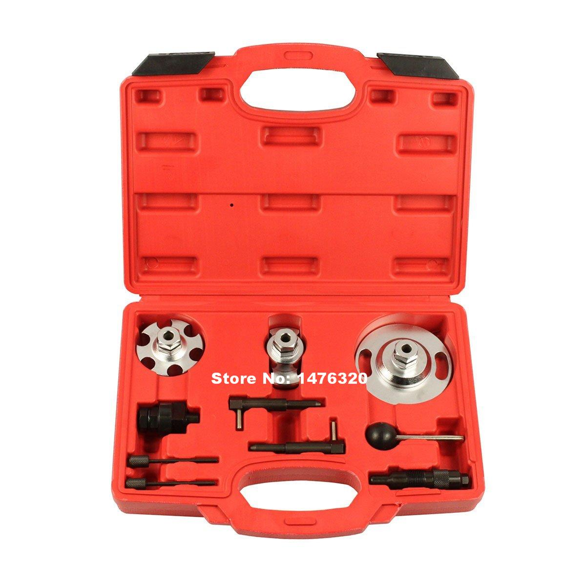 Automotive Engine Timing Camshaft Locking Setting Tool Kit For Audi A4/A5/A6/Q5/Q7/Touareg/Phaeton VAG 2.7/3.0 AT2032  high quality diesel engine timing locking tool for vag 2 7