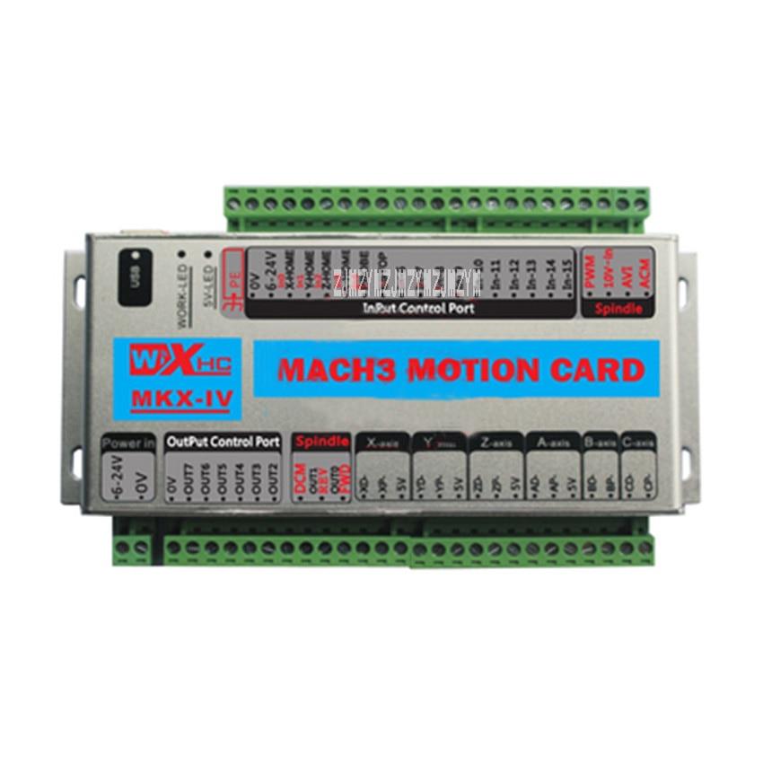 New Arrival MACH3 Triaxial Controller XHC CNC Mach3 USB 3 Axis Motion Control Card Breakout Board 24V 2000KHz Support Windows xhc mk4 mach3 breakout board 6 axis usb motion control card 2mhz support windows 7 10